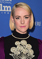 "SANTA BARBARA, CA - JANUARY 31:  Jena Malone at the 33rd Santa Barbara International Film Festival Opening Night Film - ""The Public"" at the Arlington Theatre on January 31, 2018 in Santa Barbara, California. (Photo by Scott Kirkland/PictureGroup)"