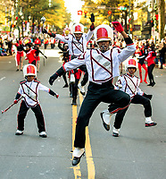 Photography of the Novant Health Thanksgiving Day Parade in Uptown Charlotte, North Carolina. More than 100,000 people came out to watch the 71st annual parade as it made its way up Tryon Street. <br /> <br /> Charlotte Photographer - PatrickSchneiderPhoto.com