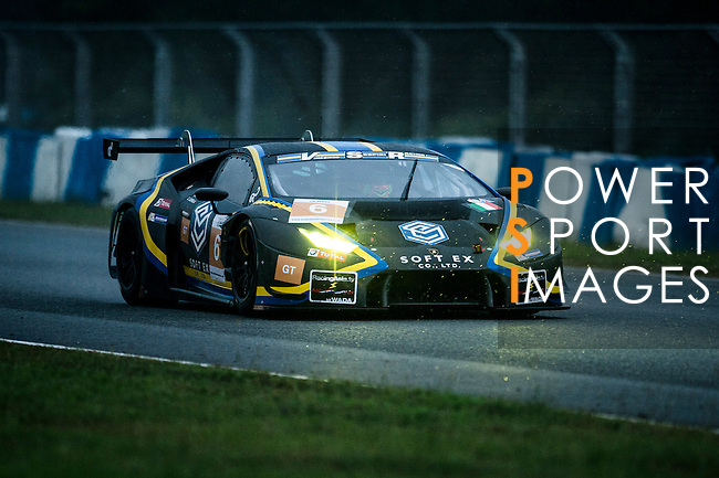 VS Racing, #6 Lamborghini Huracan GT3, driven by Kei Cozzolino, Corey Lewis, Adrian Zaugg in action during Asian LMS Qualifying (GT, GT Cup) of the 2016-2017 Asian Le Mans Series Round 1 at Zhuhai Circuit on 29 October 2016, Zhuhai, China.  Photo by Marcio Machado / Power Sport Images