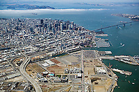Historical aerial photograph of Mission Bay, San Francisco, California, 2006