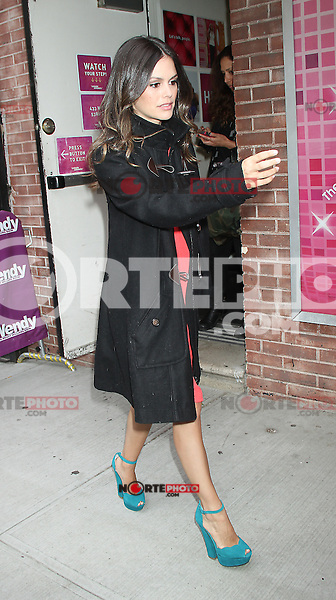 May 08, 2012 Rachel Bilson at Wendy Williams Show to talk about her CW show Hart of Dixie in New York City. Credit: RW/MediaPunch Inc.
