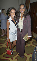 BEVERLY HILLS, CA - SEPTEMBER 17: Angel Parker and Garcelle Beauvais attend the 5th Annual Women Making History Brunch at the Montage Beverly Hotel on September 17, 2016 in Hollywood, CA. Credit: Koi Sojer/Snap'N U Photos/MediaPunch