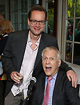 Michael Riedel and David Lewis attends the Urban Stages' 35th Anniversary celebrating Women in the Arts at the Central Park Boat House on May 15, 2019 in New York City.