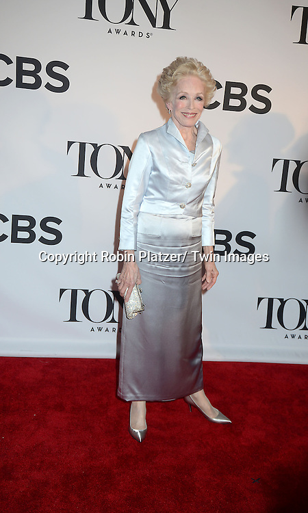 Holland Taylor attend the 67th Annual Tony Awards on Sunday, June 9th at Radio City Music Hall in New York City.