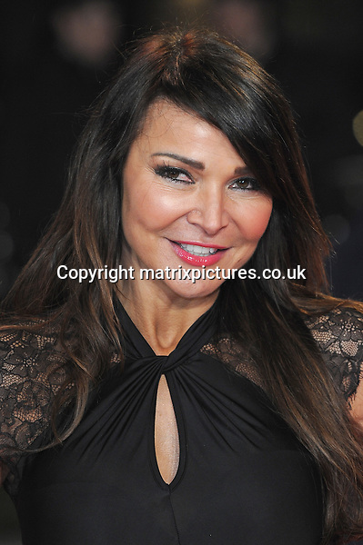 NON EXCLUSIVE PICTURE: PAUL TREADWAY / MATRIXPICTURES.CO.UK.PLEASE CREDIT ALL USES..WORLD RIGHTS..Lizzie Cundy attends the UK Premiere of A Good Day To Die Hard, Empire Leicester Square, London...FEBRUARY 7th 2013..REF: PTY 13849
