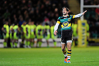 Ben Foden of Northampton Saints. Aviva Premiership match, between Northampton Saints and Sale Sharks on December 23, 2016 at Franklin's Gardens in Northampton, England. Photo by: Patrick Khachfe / JMP