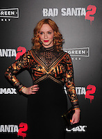 NEW YORK,NY November 015 : Christina Hendricks attend the 'Bad Santa 2' New York premiere at AMC Loews Lincoln Square 13 theater on November 15, 2016 in New York City...@John Palmer / Media Punch
