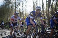Tom Boonen (BEL/Etixx-QuickStep) up the Karnemelkbeekstraat<br /> <br /> E3 - Harelbeke 2016