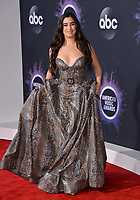 LOS ANGELES, USA. November 25, 2019: Lauren Jauregui at the 2019 American Music Awards at the Microsoft Theatre LA Live.<br /> Picture: Paul Smith/Featureflash