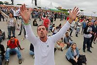 SÃO PAULO,SP, 07.11.2015 - FESTIVAL-PROMESSAS - Público durante o  Festival Promessas 2015, que acontece no Campo de Marte, zona norte de São Paulo, neste sábado, 7. (Foto: Douglas Pingituro/Brazil Photo Press)