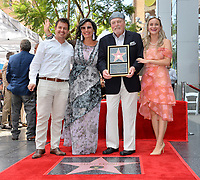 LOS ANGELES, CA. July 31, 2019: Stacy Keach, Malgosia Tomassi Keach & Family at the Hollywood Walk of Fame Star Ceremony honoring Stacy Keach.<br /> Pictures: Paul Smith/Featureflash