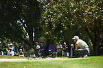 30 MAY 2016: Aaron Wise of Oregon competes in the Division I Men's Golf Championship is held at the Eugene Country Club in Eugene, OR. Wise finished in first place with a -5 score. Stephen Nowland/NCAA Photos