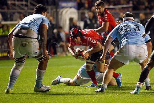 30.11.2013. Toulon, France. Top 14 rugby union. Toulon versus Perpignan.  matt giteau (rct)
