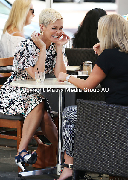 17 FEBRUARY 2016 <br /> SYDNEY, AUSTRALIA<br /> <br /> EXCLUSIVE PICTURES<br /> <br /> Samantha Armytage pictured having lunch with Jessica Rowe at Indigo Cafe Double Bay. <br /> <br /> *ALL WEB USE MUST BE CLEARED*<br /> <br /> Please contact prior to use:  <br /> <br /> +61 2 9211-1088 or email images@matrixmediagroup.com.au <br /> <br /> Note: All editorial images subject to the following: For editorial use only. Additional clearance required for commercial, wireless, internet or promotional use.Images may not be altered or modified. Matrix Media Group makes no representations or warranties regarding names, trademarks or logos appearing in the images.