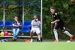 Stockholm 2014-06-07 Fotboll Superettan Hammarby IF - Tr&auml;ning :  <br /> Hammarbys sportchef Mats Jingblad pratar i telefon bredvid Hammarbys styrelseledamot och fd spelare Jens Gustafsson under Hammarbys tr&auml;ning p&aring; &Aring;rsta IP den 7 juni 2014<br /> (Foto: Kenta J&ouml;nsson) Nyckelord:  Superettan  HIF Bajen Tr&auml;ning &Aring;rsta IP