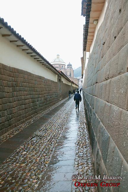 Alley Off Plaza De Armas