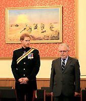 Prince Harry visit to RAF Honington in Bury St Edmunds