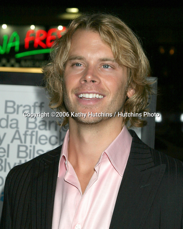 """Eric Christian Olsen.Los Angeles Premiere of """"The Last Kiss"""".Directors Guild of America.Los Angeles, CA.September 13, 2006.©2006 Kathy Hutchins / Hutchins Photo...."""