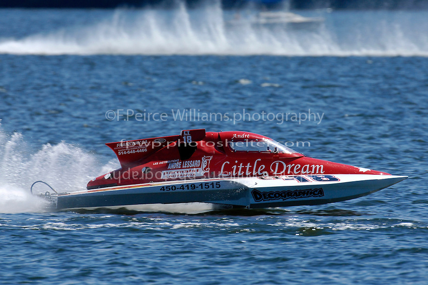 "CT-18 ""Little Dream"" (1.5 Litre Stock hydroplane(s)"