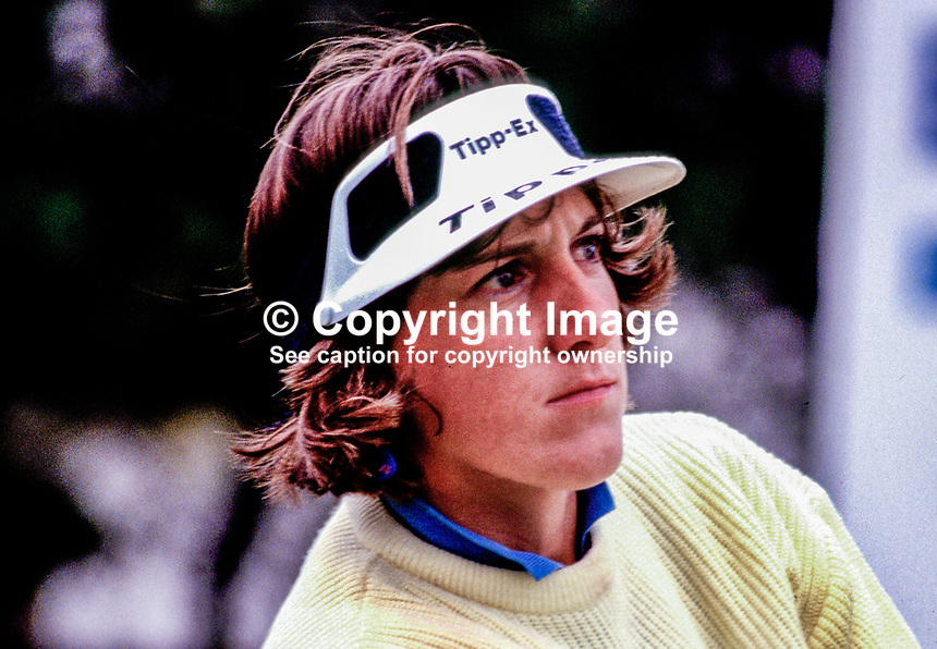 Maureen Garner, professional golfer, N Ireland, 19870511MG..Copyright Image from Victor Patterson, 54 Dorchester Park, Belfast, UK, BT9 6RJ..Tel: +44 28 9066 1296.Mob: +44 7802 353836.Voicemail +44 20 8816 7153.Skype: victorpattersonbelfast.Email: victorpatterson@me.com.Email: victorpatterson@ireland.com (back-up)..IMPORTANT: If you wish to use this image or any other of my images please go to www.victorpatterson.com and click on the Terms & Conditions. Then contact me by email or phone with the reference number(s) of the image(s) concerned.