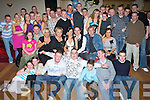 Key to the Door - Leigh McCord from Spa Rd., seated centre having a ball with friends and family at his friends and family at his 21st birthday bash held in Kerins O'Rahilly's GAA Club on Saturday night..   Copyright Kerry's Eye 2008