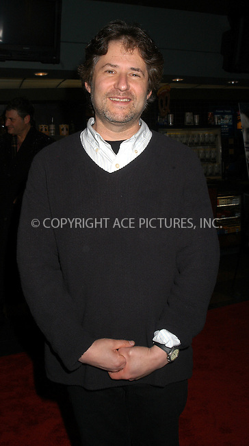 Composer James Horner arriving at the Dreamworks film premiere of 'House of sand and fog' in New York City, December 05 2003. Please byline: AJ SOKALNER/NY Photo Press.   ..*PAY-PER-USE*      ....NY Photo Press:  ..phone (646) 267-6913;   ..e-mail: info@nyphotopress.com