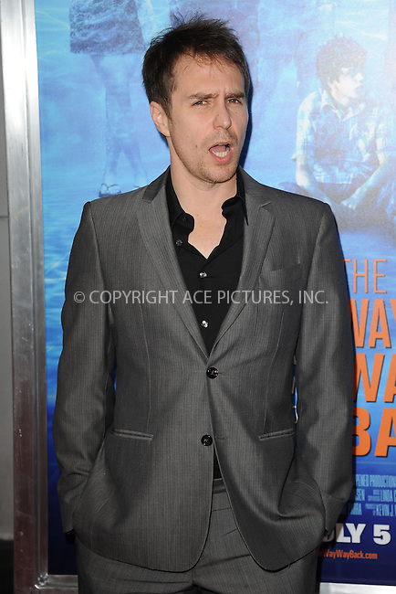 WWW.ACEPIXS.COM<br /> June 26, 2013, New York City<br /> <br /> Sam Rockwell attends 'The Way, Way Back ' New York Premiere at AMC Loews Lincoln Square on June 26, 2013 in New York City.<br /> <br /> By Line: Kristin Callahan/ACE Pictures<br /> ACE Pictures, Inc.<br /> tel: 646 769 0430<br /> Email: info@acepixs.com<br /> www.acepixs.com<br /> Copyright:<br /> Kristin Callahan/ACE Pictures