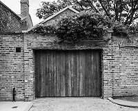 Chiswick. Greater London. Garage Door - Chiswick Mall and embankment  Leading from Chiswick to Fulham Reach RC. Sunday.  24.07.2016  [Mandatory Credit: Peter Spurrier/Intersport-images.com]