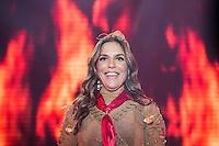SÃO PAULO, SP, 11.06.2016 - SHOW-SP - A cantora Ivete Sangalo durante show no CTN - Centro de Tradições Nordestinas, na madrugada deste sábado, 11. (Foto: Adriana Spaca/Brazil Photo Press)