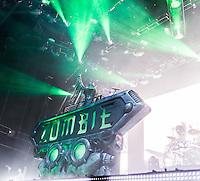 Rob Zombie at Mayhem Fest 2013 in Atlanta, GA.