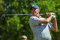 Matt Kuchar (USA) watches his tee shot on 9 during Round 1 of the Valero Texas Open, AT&amp;T Oaks Course, TPC San Antonio, San Antonio, Texas, USA. 4/19/2018.<br /> Picture: Golffile | Ken Murray<br /> <br /> <br /> All photo usage must carry mandatory copyright credit (&copy; Golffile | Ken Murray)