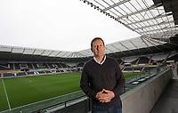 2012 03 14 Chairman Huw Jenkins at the Liberty Stadium, South Wales, UK.