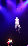 Jonathan Goodwin, The Daredevil from 'The Illusionists' during a press preview of 'The Illusionists - Turn of the Century' at The Theater Center on November 29, 2016 in New York City.