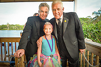 Lots of smiles with Tony Denison and G.W. Bailey, Executive Director of the Sunshine Kids, and friends during the Once Upon a Time Childrens Gala at Naples Zoo ... photo/debi pittman wilkey