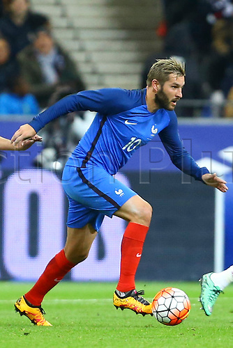 29.03.2016. Stade de France, Paris, France. International football friendly. France versus Russia.  Andre Pierre Gignac (France)