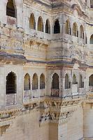 Mehrangarh Fort 19th Century at Jodhpur in Rajasthan, Northern India