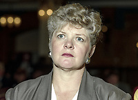 Anita Pollack, MEP, Labour Party, UK, September, 1994, 199709002523<br /><br />Copyright Image from Victor Patterson, 54 Dorchester Park, <br />Belfast, UK, BT9 6RJ<br /><br />t1: +44 28 9066 1296 (from Rep of Ireland 048 9066 1296)<br />m: +44 7802 353836<br />e: victorpattersonbelfast@gmail.com<br />w: www,victorpatterson.com<br /><br />Please see my Terms and Conditions of Use at https://www.victorpatterson.com/page2<br />It is IMPORTANT that you familiarise yourself with them.<br /><br />Images used on the Internet incur an additional cost and must be visibly watermarked i.e. © Victor Patterson within the body of the image and copyright metadata must not be deleted. Images used on the Internet have a size restriction of 4kbs and are chargeable at rates available at victorpatterson.com.<br /><br />This image is only available for the use of the download recipient i.e. television station, newspaper, magazine, book publisher, etc, and must not be passed on to any third party. It is also downloaded on condition that each and every usage is notified within 7 days to victorpattersonbelfast@gmail.com.<br /><br />The right of Victor Patterson to be identified as the author is asserted in accordance with The Copyright Designs And Patents Act (1988). All moral rights are asserted.