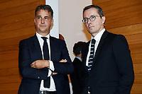 Michele Uva-Jacques Henry Eyraud <br /> Milano 19/09/2019 - convegno Financial Fair Play / Photo Daniele Buffa/Image Sport/Insidefoto