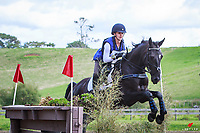 NZL-Sophie Abbott rides Henton Armani during the Sports Hub CNC95 Cross Country. Final-4th. 2018 NZL-AESI Auckland Anniversary Horse Trial. Woodhill Sands. Auckland. Copyright Photo: Libby Law Photography