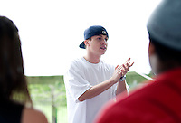 MTV Hip-Hop star Kenny Wormald (cq) teaches a dance class at the 12th Annual Dance for the Planet Festival at Samuell-Grand Park in Dallas, Texas, Saturday, April 26, 2007. Over 140 dance groups performed at the event...MATT NAGER/SPECIAL CONTRIBUTER