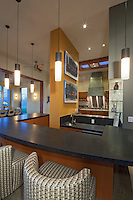 Stock photo of Wet bar in modern home