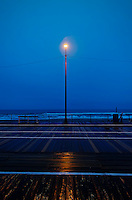 Ocean City boardwalk, New Jersey, street light, light, mood, moody,