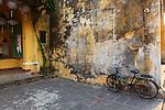 Bicycle still life. Hoi An, Vietnam. April 15, 2016.
