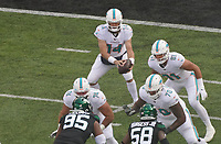 quarterback Ryan Fitzpatrick (14) of the Miami Dolphins - 08.12.2019: New York Jets vs. Miami Dolphins, MetLife Stadium New York