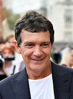 """LONDON, UK, AUGUST 08: Antonio Banderas attends the opening night of Film4 Summer Screen at Somerset House featuring the UK Premiere of """"Pain And Glory"""" on August 8, 2019 in London, England. <br /> CAP/JOR<br /> ©JOR/Capital Pictures"""