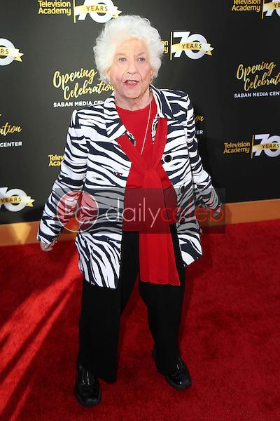 Charlotte Rae<br /> at the Television Academy's 70th Anniversary Celebration Gala, Television Academy, North Hollywood, CA 06-02-16<br /> David Edwards/Dailyceleb.com 818-249-4998