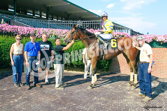 Con Gee winning at Delaware Park on 8/17/15