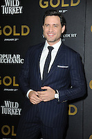 www.acepixs.com<br /> January 17, 2017  New York City<br /> <br /> Edgar Ramirez attending The World Premiere of 'Gold' at AMC Loews Lincoln Square 13 theater on January 17, 2017 in New York City.<br /> <br /> <br /> Credit: Kristin Callahan/ACE Pictures<br /> <br /> Tel: 646 769 0430<br /> Email: info@acepixs.com