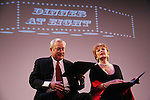 Bill Tatum and Anita Gillette (A/W) perform Dinner at Eight - Celebrating Women Artists Over 40 - The New York Coalition of Professional Qomen in the ts & Media, INC. in association with American Federation of Television & Radio Artists and the Screen Actors Guild presents VintAGE on March 1, 2010 at Peter Norton Symphony Space, New York City, New York. (Photo by Sue Coflin/Max Photos)