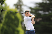 Jason Tobin (Castletroy) on the 2nd tee during the AIG Barton Shield Munster Final 2018 at Thurles Golf Club, Thurles, Co. Tipperary on Sunday 19th August 2018.<br /> Picture:  Thos Caffrey / www.golffile.ie<br /> <br /> All photo usage must carry mandatory copyright credit (&copy; Golffile | Thos Caffrey)